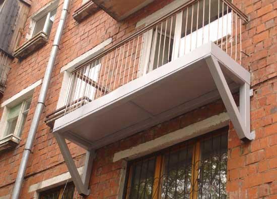 Укрепленный-балкон