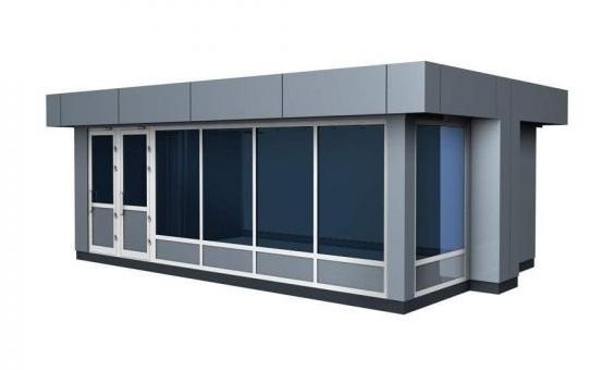 Пример модульного здания