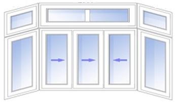 верхняя рама (балкон П-образный)