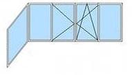 верхняя рама (балкон Г-образный)