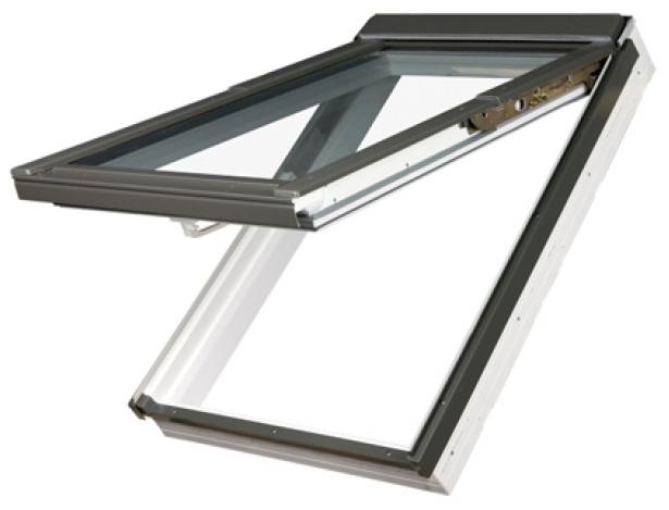 одностворчатое окно (открывание наружу)